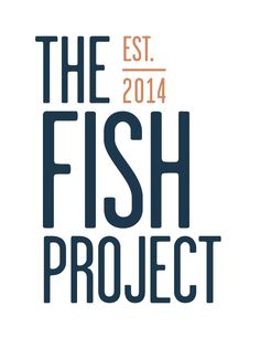 Boulder restaurant and seafood market, The Fish Project, commissioned this logo design.