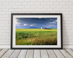 Farm Photography Fields of Wheat Quebec Landscape by FullPhoto Farm Photography, Beautiful Gifts, Fields, Canada, Etsy, Landscape, Awesome, Shops, Community