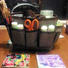 Thirty-one mini organizer ... Keep all your paint supplies together!