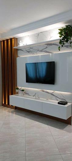 Living Room Partition Design, Living Room Tv Unit Designs, Room Partition Designs, Tv Unit Furniture Design, Bed Furniture, Home Room Design, Home Interior Design, Tv Cupboard Design, Modern Tv Room