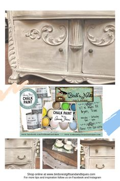 Step by Step Color Wash Technique – Bird's Nest Gifts & Antiques Annie Sloan Chalk Paint Tutorial, Annie Sloan Chalk Paint Furniture, Diy Chalk Paint Recipe, Chalk Paint Finishes, Chalk Paint Colors, Annie Sloan Paints, Chalk Painting, Painted Bedroom Furniture, Distressed Furniture