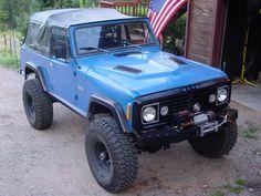 """my 1972 Jeep Commando """"Blue Bully"""""""