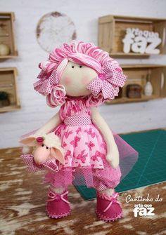 Muñeca julia con patrones
