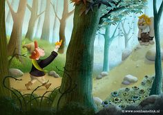 How to create a children's book illustration in Photoshop