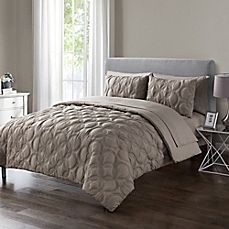 image of VCNY Home Atoll Embossed Comforter Set