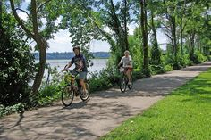 On the bike path - Presque Isle State Park, Erie, PA | Flickr