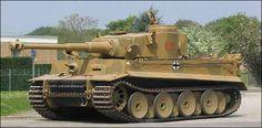 German Tiger 1 (introduced 1942) -- 88 mm cannon -- 2x 7.92 mm machine guns -- 60 tons