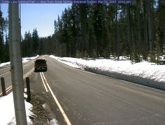 Munson Valley Road at Annie Springs Entrance