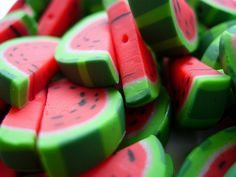 :)Watermelon buttons