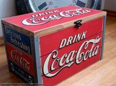 Boîte Coca-Cola (grand modèle) - Déco rétro - Natives