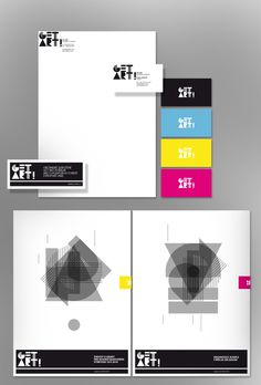 Get Art! | Corporate Identity | Designer: Stanislav Bilek | Image 1 of 3