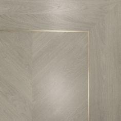 Grey tile with gold grout/trim Floor Design, Tile Design, House Design, Floor Ceiling, Tile Floor, Tile Trim, Metal Trim, Timber Flooring, Floor Patterns