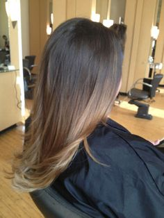 Ombre perfection!  Courtesy of my hair wizard @katie cammisa at Vis a Vis the Salon