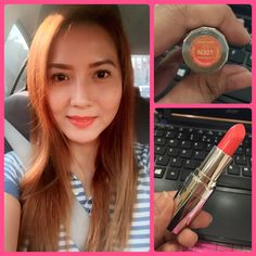 Avon Totally Kissable Lipstick in Caressing Coral
