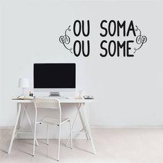 ou soma ou some - decoração mode deco