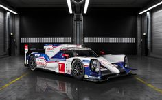 *Jaw dropping* 2014 Toyota TS040 Hybrid Le Mans Prototype Revealed. Hit the pic for the video #carporn