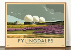 Built in 1962 on Snod Hill in the North Yorkshire Moors the RAF radar base originally comprised of three large 'golf balls' or radomes each measuring 40 metres in diameterbefore being replaced by new structures in 1989-1992. The station has been the subject of many conspir...