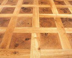 Ted Todd End Grain Lattice Petite Engineered Wood Home Flooring - Domestic Engineered Wood - Patterns and Panels at Wood Floor Supermarket
