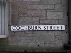 street name plate!