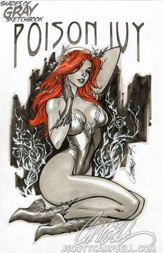 "My Girl Poison Ivy ""Gray"" by *J-Scott-Campbell on deviantART"