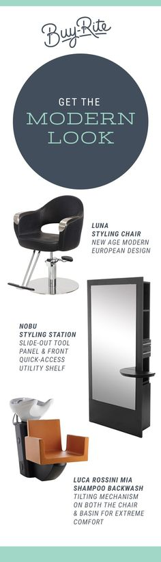 Get The Modern Look With The Luna Styling Chair, Nobu