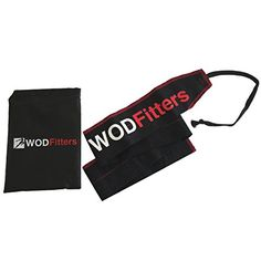 WODFitters Flexible Cloth Wrist Wraps - Strong, Flexible and Stylish Cloth Wrist Wraps Offer Superior Wrist Support with One Touch Adjustment for Weightlifting and Cross Training Strength, WODs
