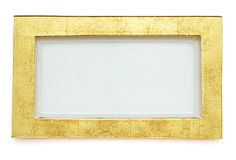 Textured Serving Tray, Gold Solid on OneKingsLane.com