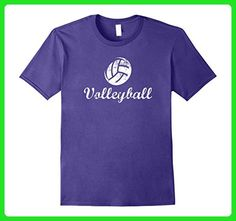 Mens Volleyball T-Shirt Large Purple - Sports shirts (*Amazon Partner-Link)