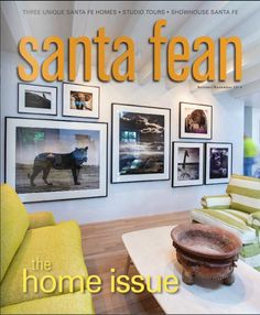Thank you @santa_fean for the incredible cover story on our new home renovation of our East Side home in Santa Fe! #feelslikeavacation #design #Interior #home #homerenovation #santafeinteriordesign