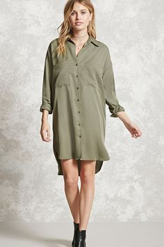 FOREVER 21+ Contemporary Shirt Dress