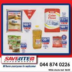 Saverite Supermarket York Street brings you unbelievable prices on essential groceries this Easter. Take these for example, something for everybody. Hurry on down and cash in at your favorite store. #supermarket #groceries #easterspecials.