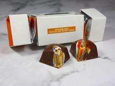 Langleys Rocky Road Milk Chocolate Christmas Crackers Gift Box Review Chocolate Filling, Chocolate Treats, How To Make Chocolate, Caramel Flavoring, Vanilla Flavoring, Chocolate Christmas Gifts, Candied Orange Peel, Whole Milk Powder, Christmas Crackers