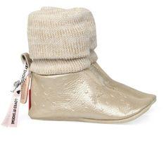 Bronzen/Gouden Shoesme kinderschoenen BS5W501 babyschoentjes