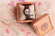G I V E A W A Y! Yay!  Let me introduce you to my new watch from @jordwatches This rose and zebrawood combination goes perfectly with my fancy or casual outfits. I have great news for you guys, I teamed up with @jordwatches to give one lucky person $100 towards your own watch! To enter, simply click the link in my bio and it's super easy to enter! Contest ends on March 4th 2018 at 11:59 eastern time.