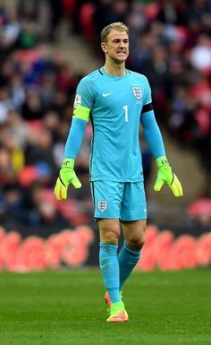 The captain of England.