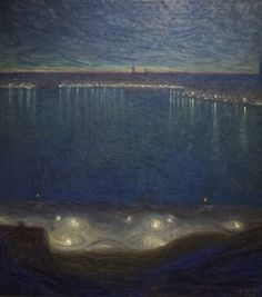 'Riddarfjärden, Stockholm', 1898 - Eugene Jansson