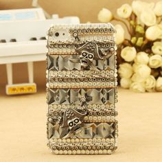 iPhone 5 Jewelled Crystals Pirate Back Cover Birthday Gift for girlfriend