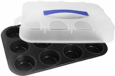 Zenker Muffin Pan with Carrying Lid, 12 Muffins, Non-Stick by Frieling. $28.50. 1-year warranty. Made in Germany. Makes up to 12 muffins. Great holiday item. Bpa free carringing lid included. Click here for a larger image      Click here for a larger image  The Zenker Story    Established in 1885, Zenker is one of the oldest and largest bakeware manufacturers in the world. Within picturesque Bavaria, to this day, each baking pan and tool is crafted in the finest German t...