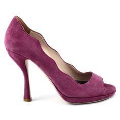 #PRADA #purple #womanpumps # just at #shopatvoi.com $420.00