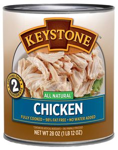 We pride ourselves on our squeaky #clean label. When you're in Giant Eagle or Walmart and you turn that Keystone can around, you're guaranteed to see only two #ingredients: meat and sea salt! That's it!  Next time you're at your favorite #grocery store, check us out!  . . . #KeystoneMeats #Recipes #Food #Yummy #Lunch #MealIdeas #Time #LunchTime #DailyFoodFeed #QualityTime #Quick #Hacks #Beef #Chicken #Turkey #Pork #FamilyBusiness #foodie