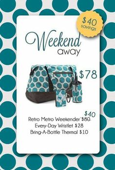I can't get enough of the Turquoise Mod Dot print from Thirty-One! - Amy Fideli ~ Origami Owl Independent Designer and Senior Team Leader - Pinsit Thirty One Totes, Thirty One Party, Thirty One Gifts, Thirty One Consultant, Independent Consultant, Thirty One Business, 31 Gifts, 31 Bags, Weekends Away