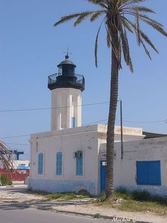 Gabe's Lighthouse,Tunisia (1893)
