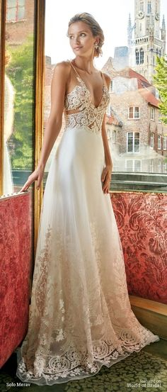 Bruges by Solo Merav 2016 Wedding Dress