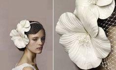 El diseño de tu tocado de novia deberá ser especial para tu vestido de  novia y estilo que deseas. Mira las tendencias de este año para que elijas e d421b25c305