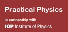 Practical Physics is a collection of experiments that demonstrate a wide range of physical concepts and processes. These resources are for the use of teachers of physics in schools and colleges. Physics Lessons, Institute Of Physics, Colleges, Teaching Resources, Schools, Foundation, Encouragement, Science, Range