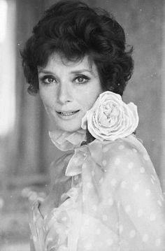 Rare Audrey Hepburn — Audrey Hepburn Dotti, draped in two Valentino...