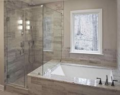 Unbelievable Useful Ideas: Tub To Stand Up Shower Remodel walk in shower remodeling no door.Shower Remodeling Grey tub to shower remodel half walls.Tub To Shower Remodel Half Walls. Bathroom Tub Shower, Bathroom Flooring, Bathroom Cabinets, Bathroom Mirrors, Bathroom Fixtures, Bathtub Shower Combo, Marble Bathrooms, Boho Bathroom, Bath With Shower