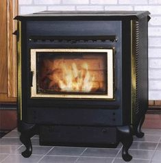 Stoves :: Biomass / Corn / Multi-fuel Stoves :: Magnum Countryside Multi-Fuel Corn Stove with Legs - Zero Clearance Fireplace, Multi Fuel Stove, Wood Pellets, Waste Paper, Cost Saving, Stoves, Inventions, Countryside, Legs