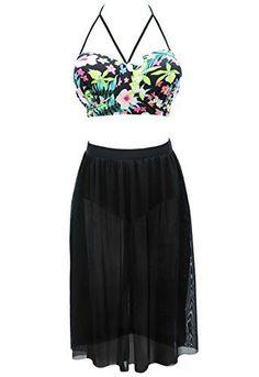 Graceful.u Women's Plus Size Floral Halter High Waist Swimwear Swimsuit, XXX-Large Graceful.u http://www.amazon.com/dp/B018XBSSV0/ref=cm_sw_r_pi_dp_DanKwb13HD2FA