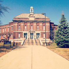 Roosevelt building on Eastern Michigan University. #truemu